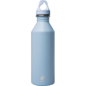 MIZU M8 Bottle with Ice Blue Loop Cap 800ml, enduro ice blue
